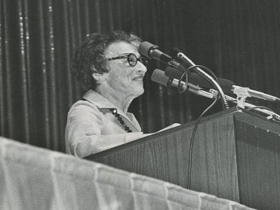 Ida Klaus, Board Member from 1976 until 1984.