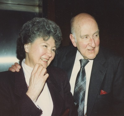 Harold R. Newman, Chair of PERB from 1978 until 1991, and his wife, Rita Cruz Newman.